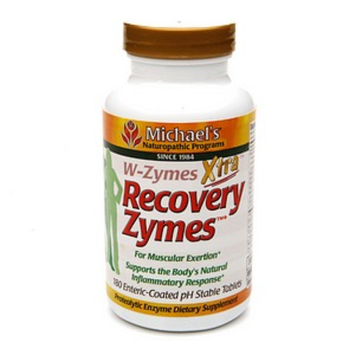Michael's Naturopathic Programs W-Zymes Xtra Recovery Zymes for Muscular Exertion