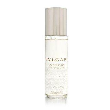 Bvlgari Omnia Crystalline by Bvlgari for Women 6.8 oz Bath and Shower Gel