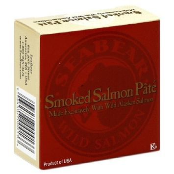 SeaBear Smoked Salmon Pate Can, 3.5-Ounce Units (Pack of 4)