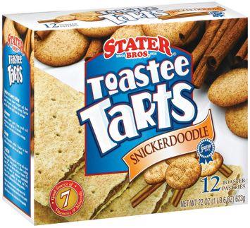 Stater bros Snickerdoodle 12 Ct Toaster Tarts