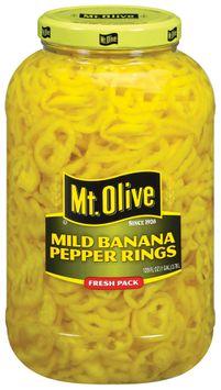 Mt. Olive Mild Banana Fresh Pack Pepper Rings