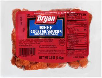 Bryan® Beef Cocktail Smokies Smoked Sausage