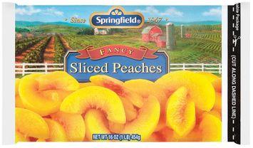 springfield® fancy sliced peaches
