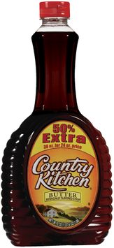 Country Kitchen Butter Flavored 50% Extra Syrup