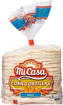 mi casa® white corn tortillas