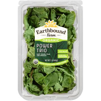 Earthbound Farm® Organic Power Trio Baby Chard, Kale and Spinach