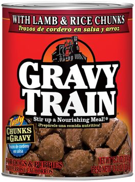 Gravy Train Chunks In Gravy With Beef Strips Wet Dog Food, 13.2-Ounce Can