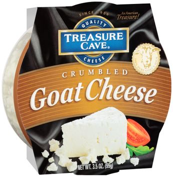 Treasure Cave® Crumbled Goat Cheese