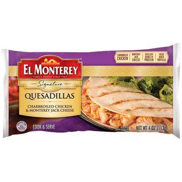 El Monterey™ Signature Charbroiled Chicken & Monterey Jack Cheese Quesadillas