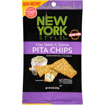 new york style® chia seeds & quinoa pita chips