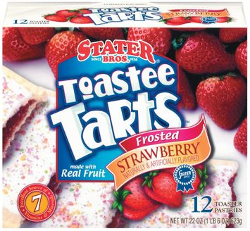 Stater bros Frosted Strawberry 12 Ct Toastee Tarts