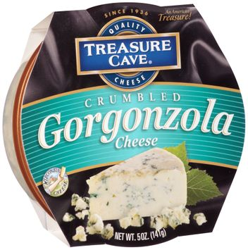 Treasure Cave® Crumbled Gorgonzola Cheese
