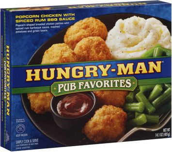 Hungry-Man® Pub Favorites Popcorn Chicken with Spiced Rum BBQ