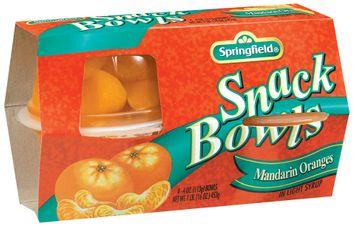 Springfield Mandarin Oranges in Light Syrup