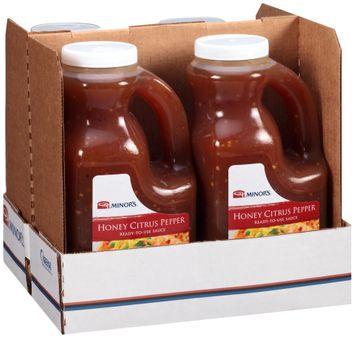 Minor's® Honey Citrus Pepper Ready-to-Use Sauce
