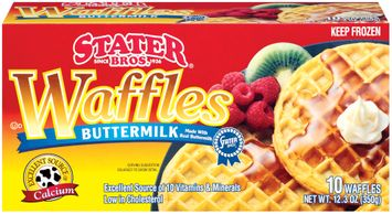 Stater Bros. Buttermilk Waffles 10 Ct Box