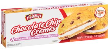 mrs Freshley's® Creme Filled Chocolate Chip Cremes Cookies