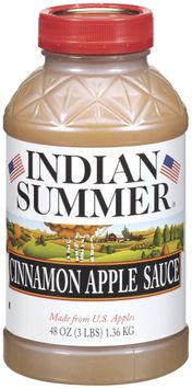 Indian Summer Cinnamon Apple Sauce