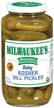 Milwaukee's Kosher Baby Dill Pickles
