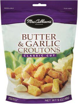 mrs cubbison's® butter & garlic croutons classic cut