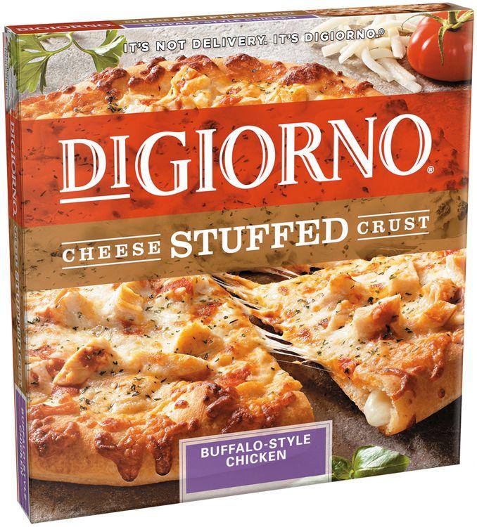 DIGIORNO Cheese Stuffed Crust Buffalo-Style Chicken Pizza