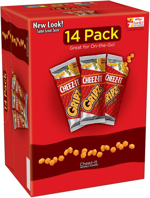 Cheez-It® Gripz® Baked Snack Crackers