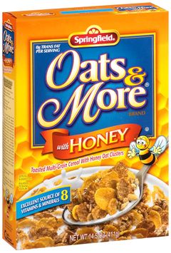Springfeild® Oats & More® Cereal with Honey
