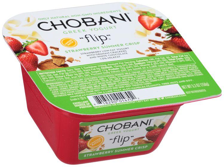 "Chobani® ""Flip""® Strawberry Summer Crisp Low-fat Greek Yogurt"