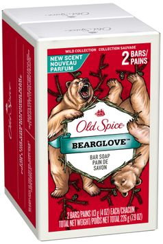 Old Spice® Wild Collection Bearglove™ Bar Soap