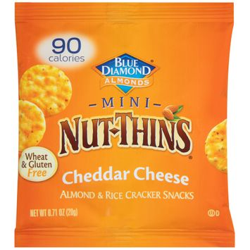 NUT-THINS® Mini Cheddar Cheese Almond & Rice Cracker Snacks