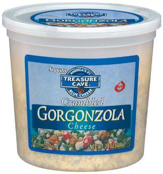 Treasure Cave® Gorgonzola Crumbled Cheese