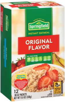 Springfield Original Flavor Instant Oatmeal