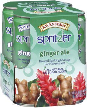 rw Knudsen Ginger Ale Sparkling Beverage