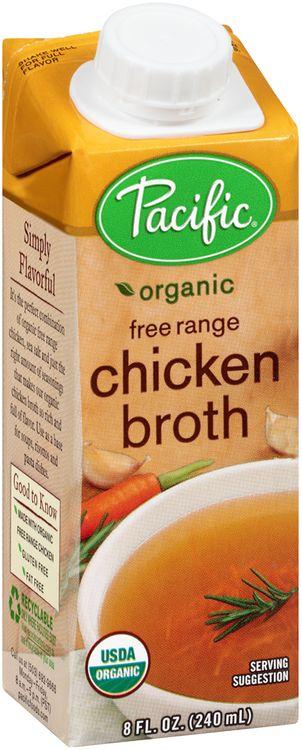 Pacific Organic Free Range Chicken Broth