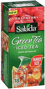 salada® green tea for iced tea raspberry flavored