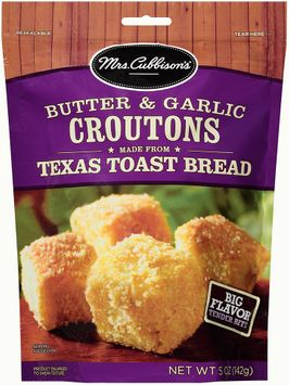 mrs cubbison's® butter & garlic texas toast croutons