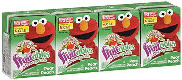 Apple & Eve® Sesame Street® Fruitables™ Pear Peach Fruit & Vegetable Juice