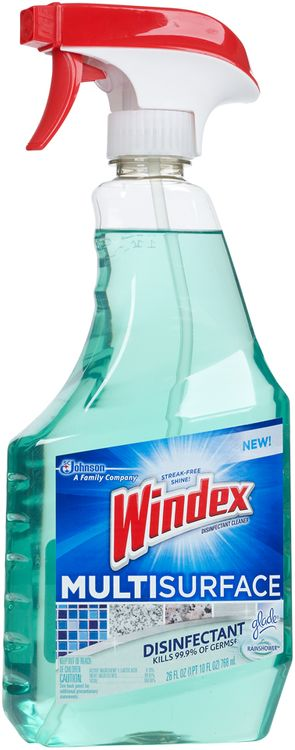 Windex® Disinfectant Cleaner Multi-Surface with Glade® Rainshower™