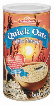 Springfield Quick 100% Natural Oats