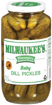 Milwaukee's Baby Dill Pickles