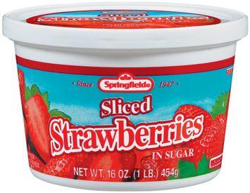 Springfield Fresh Frozen in Sugar Strawberries