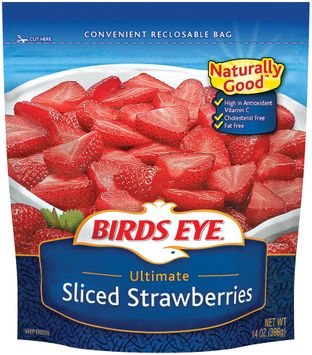 Birds Eye Sliced Ultimate Strawberries