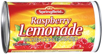 Springfield Raspberry Frozen Concentrated Lemonade