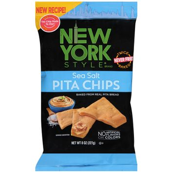 new york style® sea salt pita chips