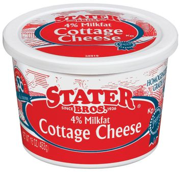 Stater bros 4% Milkfat Cottage Cheese