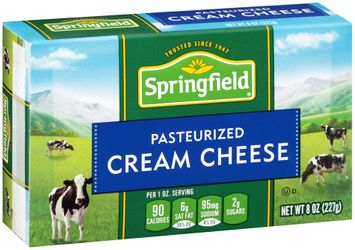 Springfield® Pasteurized Cream Cheese