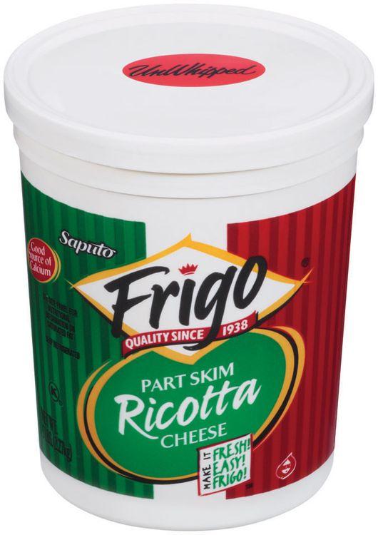 Frigo® Ricotta Part Skim Unwhipped Cheese