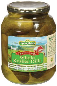Springfield Kosher Dills Whole