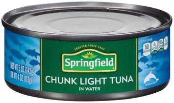 Springfield® Chunk Light Tuna in Water