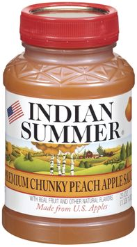 Indian Summer Chunky Peach Apple Sauce